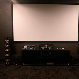 4К- кинотеатр с системой 7.2 на Polk Audio