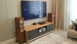 KEF R series + DENON. Превосходная стереосистема для любимого телевизора!