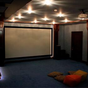Optoma HD50 (хит продаж!) в частном кинозале в г. Алматы