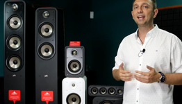 Polk Audio Signature E-series видеообзор от KINODRIVE.kz