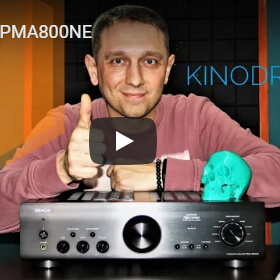 Флагманские технологии фирменного усилителя Denon PMA-800NE в видеообзоре KINODRIVE.kz