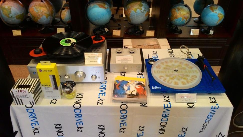 Kinodrive поддержал День Beatles в Книжном городе 21 января