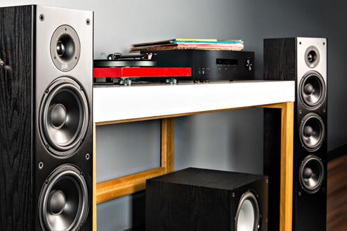 Лаконичная линейная напольная акустика Polk Audio T50: тест и обзор