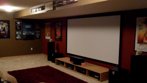 Экраны для проектора в Алматы натяжные купить