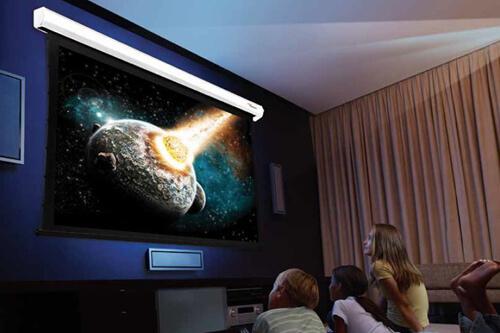 Optoma представила новые проекционные экраны для UHD-проекторов для домашнего кинотеатра