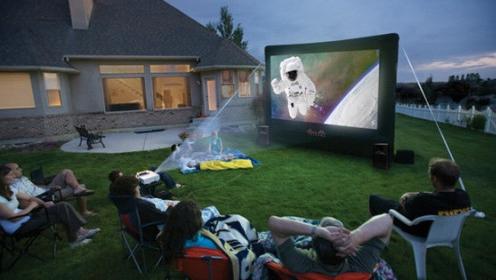 Устраиваем вечеринку с кинотеатром на открытом воздухе