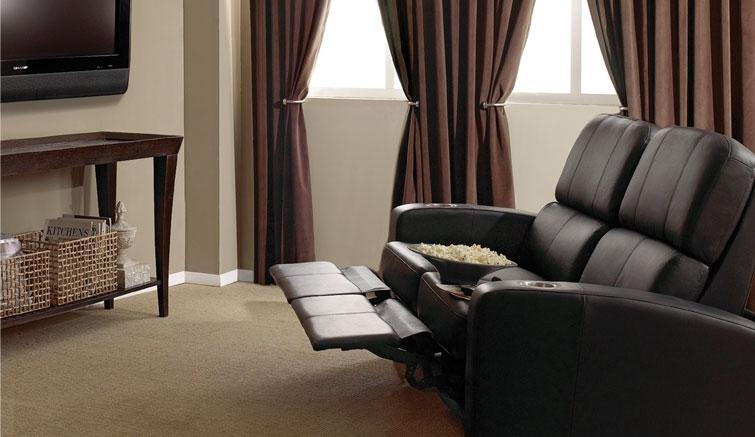 Удобные и функциональные кресла BELL'O для домашнего кинотеатра