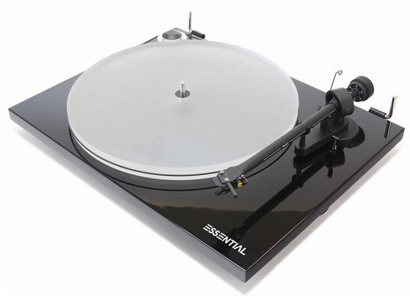 Новый виниловый проигрыватель Pro-Ject Essential III с головкой звукоснимателя Ortofon OM10