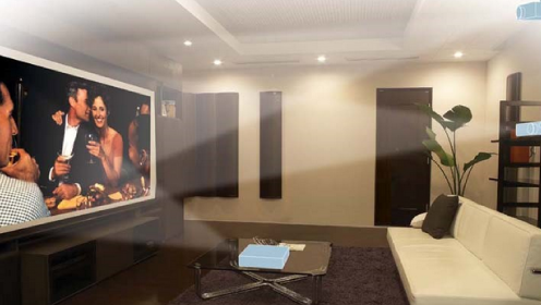 Домашний кинопроектор для домашнего кинотеатра