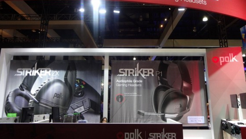 Игровая гарнитура Polk Audio Striker Pro Hitman Contract Edition