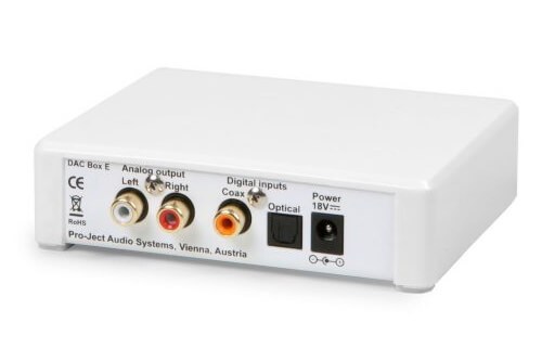 Портативная электроника будущего: Компания Pro-Ject выпустила миниатюрный цифро-аналоговый преобразователь DAC Box E