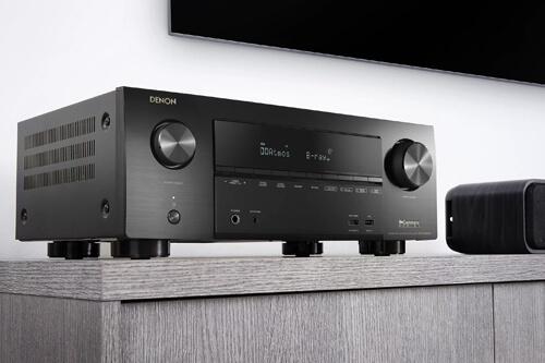 Ассортимент AV-ресиверов от «Денон» обновился: появились две новые модели
