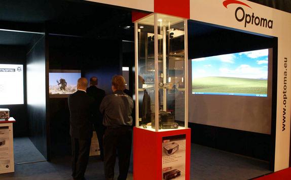 Optoma на выставке ISE2015 в Амстердаме
