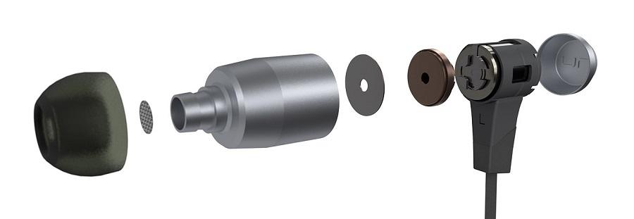 Беспроводные наушники-вкладыши NU FORCE BE6 с поддержкой Bluetooth. Заказать на KInodrive.kz