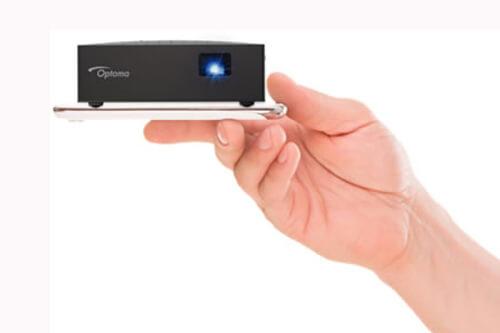 Анонс карманного LED проектора со встроенным динамиком от Optoma