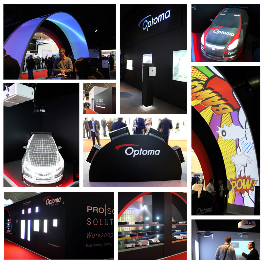 Оборудование Optoma на выставке ISE 2014