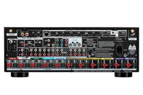 Новый AV-ресивер модели Denon AVR-X3600H