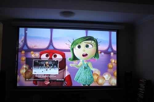 Домашний 3D-кинозал дарит радость детям (Polk Audio RTi + Optoma HD28DSE)