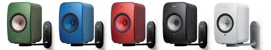 Британский производитель акустики KEF разработал новые стойки для компактных аудиоколонок LSX